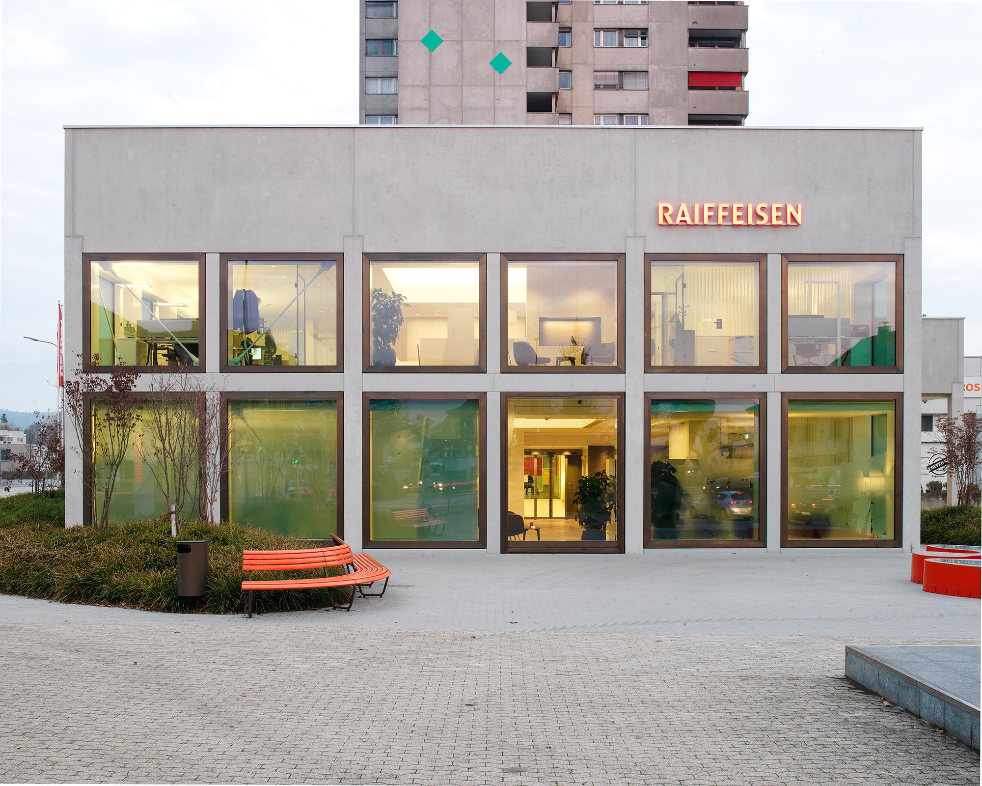1508 Raiffeisen Standort Oftringen